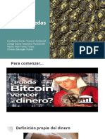 Bitcoins y Criptomonedas