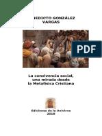 La Convivencia Social, Una Mirada Desde La Metafísica Cristiana (Benedicto González Vargas)
