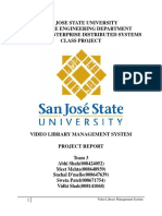 Video Library Management System Report