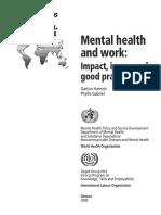 Term Paper Mental Health