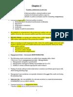 Audit Notes Ch 3