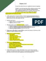 Audit Notes Ch 1 & 2