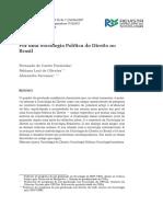 Por Uma Sociologia Poliětica Do Direito No Brasil