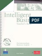 Intelligent Business - Teacher Book