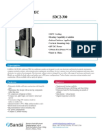 TEC Air Cooler User Manual SDC2-300