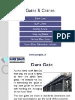 Dam Gate, Vertical Dam Gate - Dam Fabrication Company