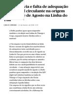 Defeito de via e falta de adequação do material circulante na origem do acidente de Agosto na Linha do Tua  Portugal  PÚBLICO