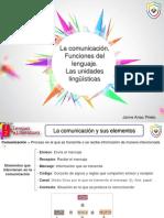 Ud 01 La Comunicacic3b3n Funciones Del Lenguaje Las Unidades Lingc3bcc3adsticas Alumno