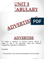 Vocab Advertising