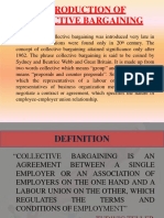 Labour Unions and Collective Bargain