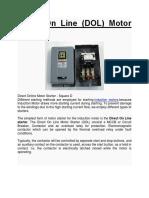 Direct on Line Starter Motor
