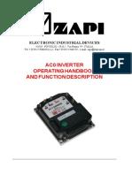 ZAPI AC-0 Manual