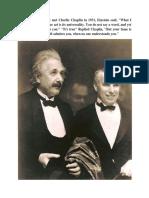 When Albert Einstein Met Charlie Chaplin in 1931