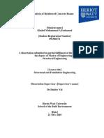 MSc Dissertation 1