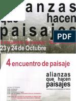 15 | 4 Encuentro de paisaje. Alianzas que hacen paisajes. Valencia | Spain