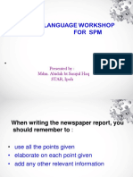 SPM Directed Writing Techniques Powerpoint Slide Show