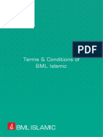 Terms and Conditions of BML Islamic