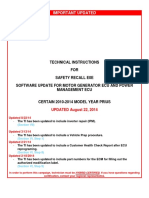 Toyota Hybrid Software Update