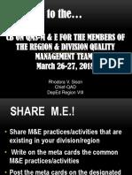 Session 1-5 QMS-M&E Ppt