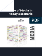 Role of Media in Today's Scenario