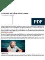As 8 Estratégias Sobre Negócios de Richard Branson