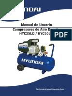 Manual Hyc25ld Hyc50ld