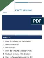 RoboTek Arduino Level 1