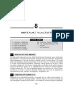 9. Chapter 8 - Maintenance Management
