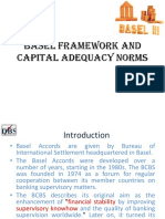 BASEL Framework and Capital Adequacy Norms