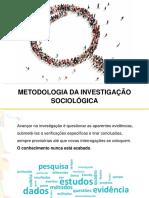 Metodologias Da Investigação Sociológica