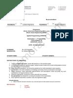 Sample-Exam 1-in C
