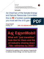 #9 of Sixteen Questions You Must Ask Oil & Gas