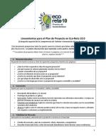 Lineamientos Plan de Proyecto Eco-Reto ESP