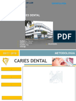 Exporsicion Caries Dental