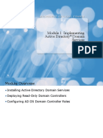 24692068-Module-1-Implementing-Active-Directory®-Domain-Services