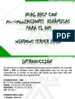Manual Dhcp-DNS Windows Server 2008 La Red 38110