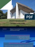 Tema 02- Arquitectura Bioclimatica. Conceptos Fundamentales. 22 Febrero 2012