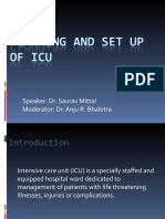 Planning and Set Up of Icu
