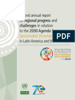 Second annual report on regional progress 2030 agenda.pdf