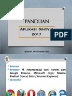 3. Panduan Sinovik 2017 - Mataram 19 Sep 2017