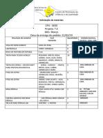 Sede- Material Pedagógico T.E Março 2019