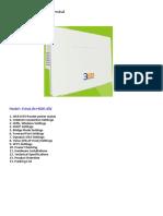EchoLife HG8145V Manual