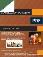 Clasificación de Bebidas