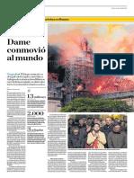 Incendio en Notre Dame Conmovió Al Mundo