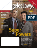 Los Angeles Lawyer - Nov. 2010 - Death of Copyright