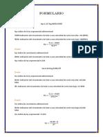 formulario de perforacion