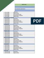 Procurment Schedule