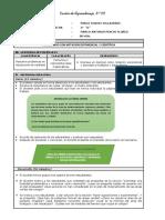 SESION DE APRENDIZAJE N°02 B- 3ro