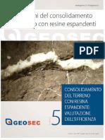 consolidamento con resine espandenti