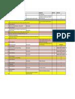 Class Schedule - Sheet1